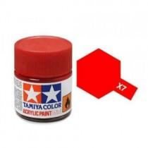 Tamiya 81507 Vermelho  X-7  - Brilhante -