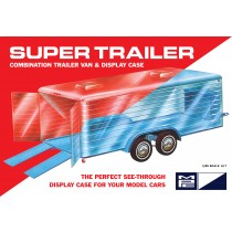 MPC 909 SUPER DISPLAY CASE TRAILER 1:25