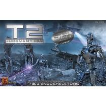Pegasus 9217 T2 Judgment Day T-800 Endoshleletons  1:32