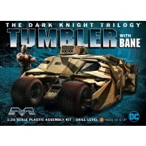 Moebius 967 Dark Knight Armored Tumbler w/ Bane 1:25