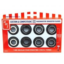 AMT PP001 Custom Competition Racemaster Dragster Slicks 1:25