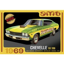 AMT 1138 CHEVY CHEVELLE SS 396 HARDTOP 1969  1:25