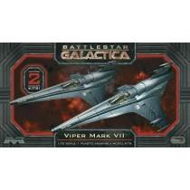 Moebius 958 Battlestar Galactica Viper Mk Vii Fighter (2)  1:72
