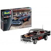 """Revell 67663 Chevy Customs 1956  1:24  """" Model-Set """""""