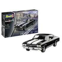 """Revell 67662 Chevy Chevelle SS 396 1968  1:25   """" Model Set """""""